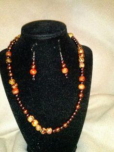 Handmade jewelryby Cherry P @womensmallbiz fundraiser