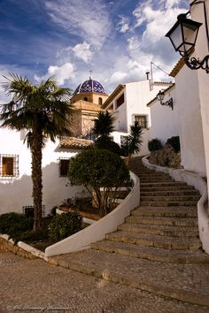 Environment from Altea, Spain by Ole-Henning Svendsen, via 500px