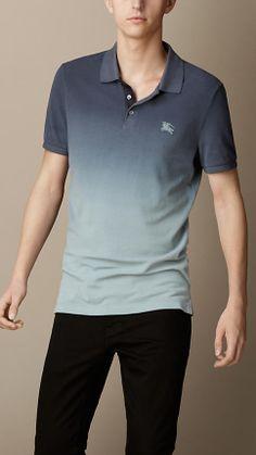 Dip-Dye Polo Shirt | Burberry