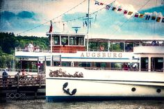 By boat on Lake Ammer by AxelHoffmann. @go4fotos