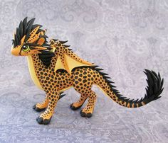 Cheetah-dragon by DragonsAndBeasties.deviantart.com on @DeviantArt