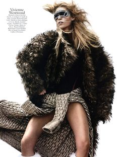 Aline Weber by David Sims