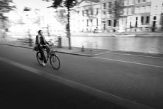 Amsterdam Bicycle Ride - http://www.jamaln.com/amsterdam-bicycle-ride/ - #AMS, #Amsterdam, #Bicycle, #Blackandwhite, #Canon, #Pan, #Travel, #Woman