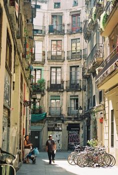 Barcelona's most beautiful streets #4. Follow, Share and contact us if you if you planning to travel to Barcelona. www.besttravelbarcelona.com #travelbarcelona #barcelona
