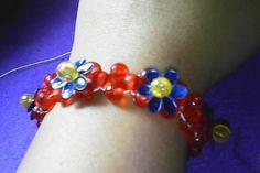 DIY,cara membuat gelang sederhana dari manik-manik-how to make a simple bracelet…