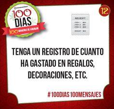 Día #12: Presupuesto #100dias100mensajes #finanzaslatinos