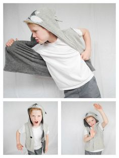 One Timble Issue 11; Hood Creatures Free Motion Applique Pattern Review.  Fox Hoodie