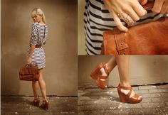 Stripes and brown