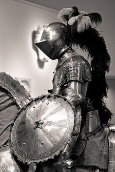 mounted knight by flee the cities, via Flickr