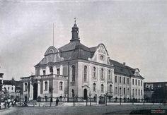 Akademia Muzyczna (Kreisständehaus, Landratsamt), Bydgoszcz - 1906 rok, stare zdjęcia