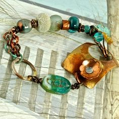 Summer Time Dreamin' as seen in Bead Trends August by enlalumiere, $58.00