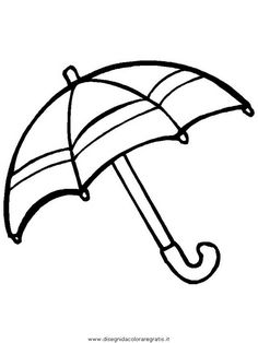 Umbrella coloring pages for kids, printable drawing | syksy ...