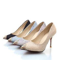 Womens Nina Vranjes™ Sparkling Glitter Heels ( 4 Colours )