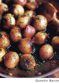 Caramelised Shallots Recipe | Barefoot Contessa (These are so amazing! And so simple!)
