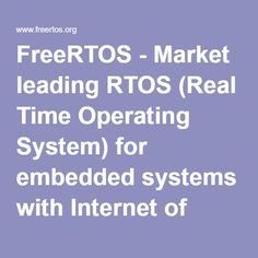 rtos real time operating system thesis Performance optimization of real-time operating systems this thesis presents the real-time task manager 12 real-time operating systems rtos real-time operating.