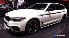 2018 BMW 5 Series 520d Touring - Exterior Walkaround - Debut at 2017 Gen...