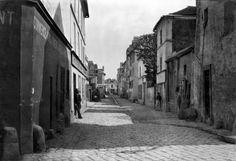 Rue des Anglaises from rue de Lourcine Paris 1858 Art Print by Charles Marville Easyart.com