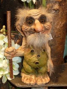 I actually have this cute troll, but I also have his female companion as well!