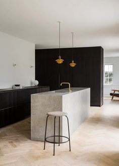 Gorgeous and minimalist kitchen