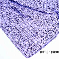 Free Crochet Pattern: Skylar Blanket | Pattern Paradise
