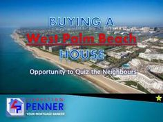If you're buying a house in West Palm Beach in the foreseeable future, it's a particularly valuable idea to take the time to chat with some of your potential new neighbors.Check this out: http://www.christianpenner.com/buying-a-west-palm-beach-house-opportunity-to-quiz-the-neighbors/