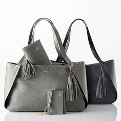 Tassel Suede Handbag #mymarkandgraham