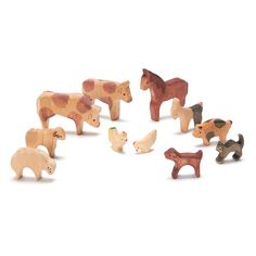 farmyard animal set - nova natural toys & crafts