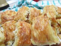 Τυροπιτάκια Πλισέ! Φύλλα υπέροχα για αφράτα τυροπιτάκια ή ότι άλλη γέμιση θέλουμε... Υλικά για τη ζύ...