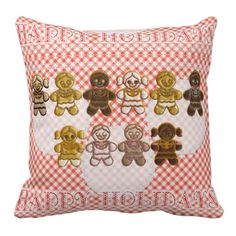 Gingerbread Boys and Girls Christmas Cookies Sofa Pillows. http://www.zazzle.com/gingerbread_boys_and_girls_christmas_cookies-189280172648310523?rf=238575087705003771