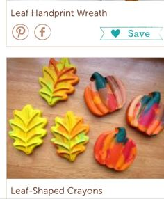 Crayons.  Melted and shaped with cookie cutter. Very fun.