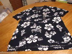 Men's Tommy Hilfiger Polo shirt NEW large slim fit navy blue 410 $69.50 7810785