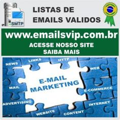 Lista de Emails Validos Para Email Marketing