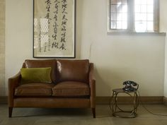 Iggy 2 seat sofa in antique style leather 'Malt' £1,510  http://www.sofa.com/shop/sofas/iggy/#120-ANTMAL-0-0