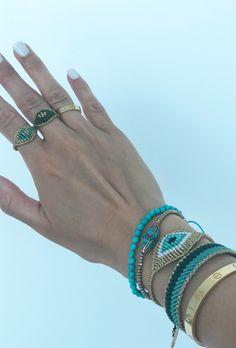 High Quality Bracelets and more by GiotaRammouJewelry Bracelet Knots, Bracelet Crafts, Macrame Bracelets, Handmade Bracelets, Jewelry Crafts, Handmade Jewelry, Macrame Rings, Macrame Jewelry, Unique Friendship Bracelets