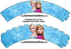 Saias Wrappers para Cupcakes Frozen Disney - Uma Aventura Congelante:  http://fazendoanossafesta.com.br/2014/01/frozendisney-umaaventuracongelante.html/frozen-disney-uma-aventura-congelante-26/#main