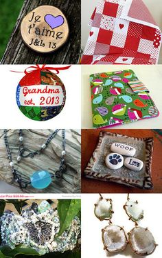 An eclectic collection of #handmade by April Joyce from www.BeaSewn.etsy.com --Pinned with TreasuryPin.com #treasury