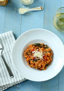 Tomato & Sausage Risotto