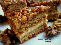 recepty s Anabelou: Medovník s orieškami ♥