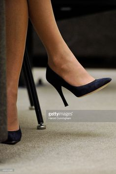 Crown Princess Mary of Denmark (shoe detail) as she attends the regional review meeting of the status of women in the UNECE region 20 years after the Beijing platform for action held at the United Nations Office at Geneva on November 6, 2014 in Geneva, Switzerland. (Photo by Harold Cunningham/Getty Images)