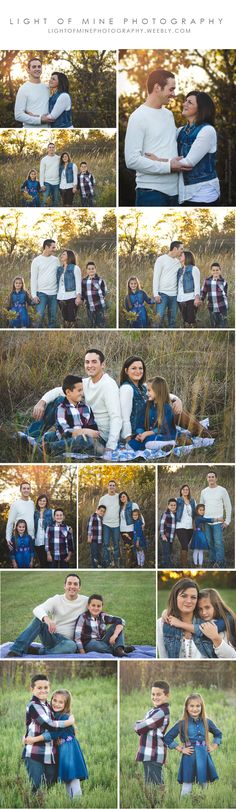 Family Portraits, Family of 4 photo session, Posing for families
