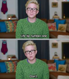 Tyler's Oakley's Tips for Life @marissakorson We were just watching and talking about him last night. I saw this and thought of you! :)