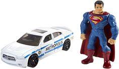 Hot Wheels Batman v Superman: Dawn of Justice Superman Mini Figure & Dodge Charger  Celebrate the new BATMAN v. SUPERMAN...   https://nemb.ly/p/Nk2d5SRHZ Happily published via Nembol
