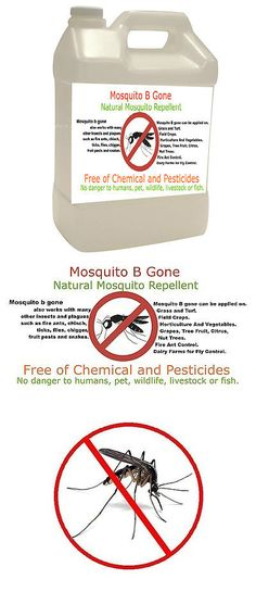 Insect Repellent Sprays 181038: Natural Mosquito Repellent 1 Gallon, Spray Or Inject Through Fertigation System -> BUY IT NOW ONLY: $65.99 on eBay!