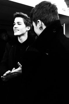 Jack and Finn Harries at the BBC Radio 1 Teen Awards. Bless whoever took this photo. Because Jack's jawline... jfc.