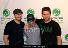 New York, USA. 23rd June, 2015. #MarkWahlberg, #DonnieWahlberg, Paul Wahlberg and family open #Wahlburgers in Coney Island Brooklyn. © Bruce Cotler/Zuma/Alamy Live News