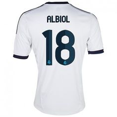 4559fd281 Albiol del Real Madrid 2012 13 Camiseta futbol  585  - €16.87