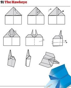 Super ideas origami paper plane how to build Origami Paper Plane, Origami Folding, Origami Easy, Hawkeye, Paper Airplanes Instructions, Best Paper Plane, Best Paper Airplane Design, Airplane Crafts, Origami Artist