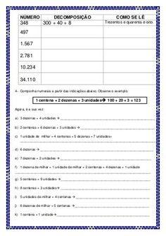 Sugestão de atividade avaliativa de matemática