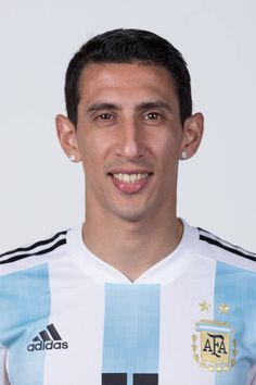 Angel Di Maria of Argentina poses for a portrait during the official FIFA World Cup 2018 portrait session on June 12 2018 in Moscow Russia Argentina Football Team, Fifa World Cup 2018, Moscow Russia, Poses, Manchester United, All Star, Superstar, Soccer, Portrait