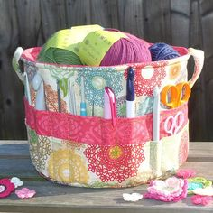 I have seen a lot of Crochet Totes, but this Carry-All has everything w/o digging!